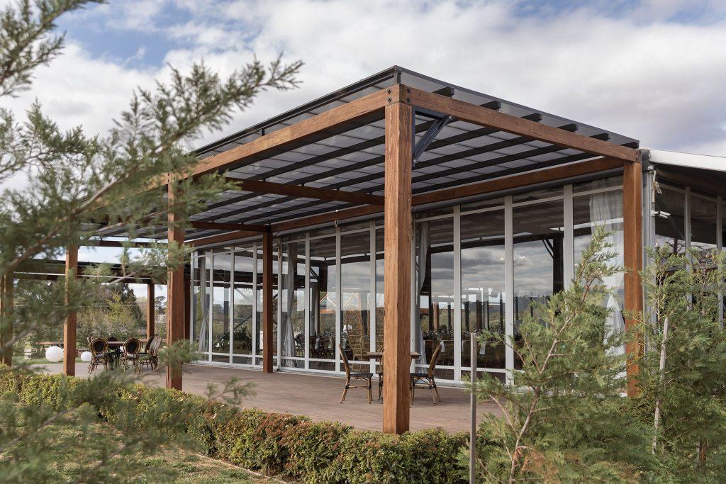 Glasshouse at Pialligo Estate Canberra Wedding Venue