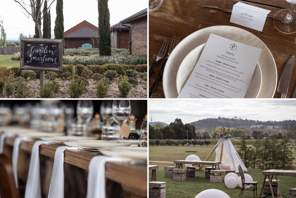 Wedding Styling natural Canberra