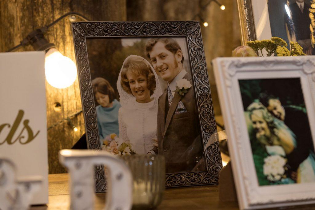 Cherished Wedding Photograph