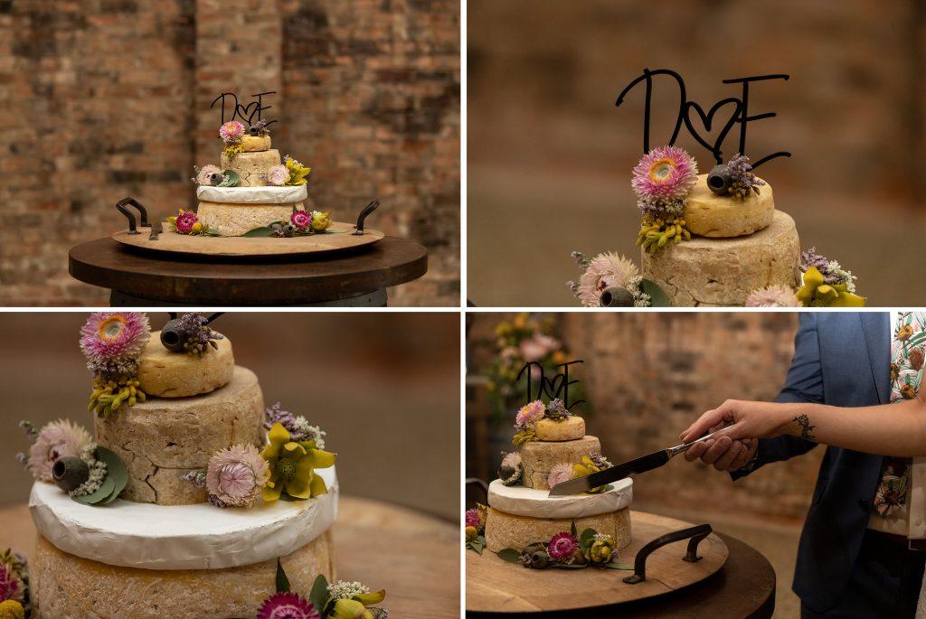 Milawa Cheese Wedding Cake